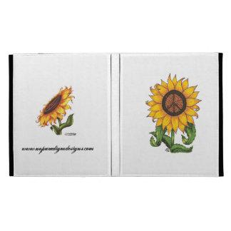 Ultimate Sunflower Peace Sign Ipad Case
