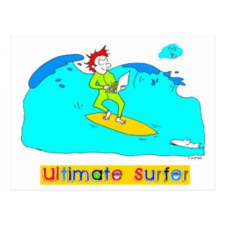 Ultimate Surfer Postcard