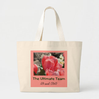Ultimate Team tote bags RN & CNA tote bags gifts