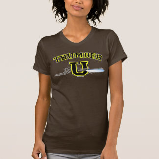 Ultimate THUMBER U YELLOW BLACK T-shirts