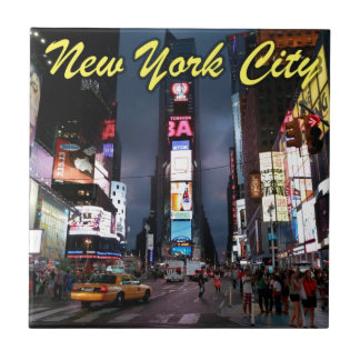 Ultimate Times Square New York City USA Ceramic Tile