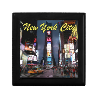 Ultimate Times Square New York City USA Trinket Boxes