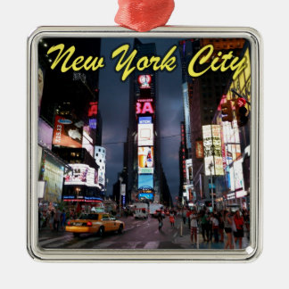 Ultimate Times Square New York City USA Metal Ornament