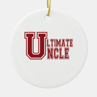 Ultimate Uncle Ceramic Ornament