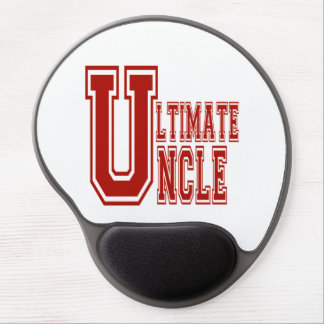 Ultimate Uncle in Off Red Gel Mouse Pad