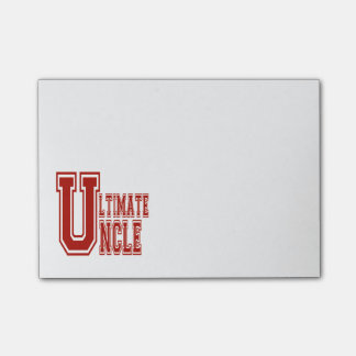 Ultimate Uncle in Off Red Post-it® Notes