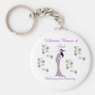 Ultimate Woman of God Key chain