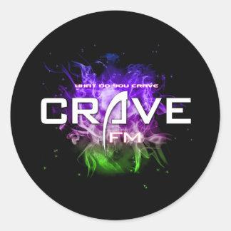 UltimateCrave Classic Round Sticker