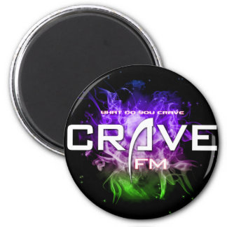UltimateCrave Large Sticker 2 Inch Round Magnet