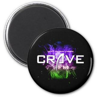 UltimateCrave Sticker 2 Inch Round Magnet