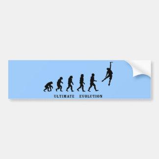 Ultimateevolution Bumper Car Bumper Sticker