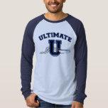 UltimateU Blue Layout 2 Sided T-Shirt