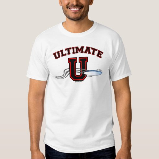 UltimateU Red Layout 2 Sided T-Shirt