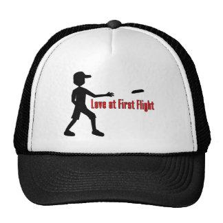Último amor del disco volador en el primer vuelo gorro de camionero