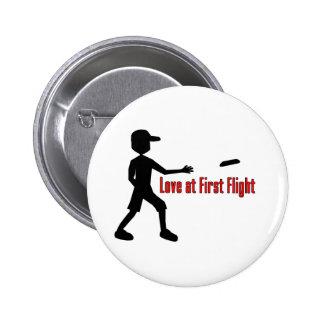 Último amor del disco volador en el primer vuelo pins