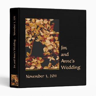 Último boda del otoño