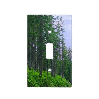 Último bosque del polo de la casa de campo placa para interruptor