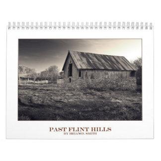 Último calendario 2012 de las colinas del pedernal