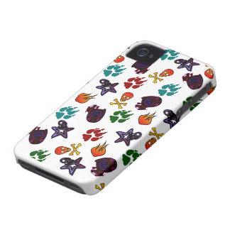Último caso del iPhone 4/4S del logotipo de iPhone 4 Cárcasas