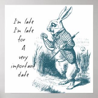 Último conejo posters