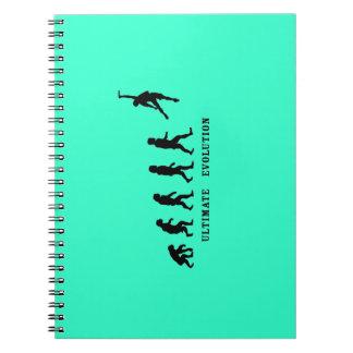 Último cuaderno de la evolución