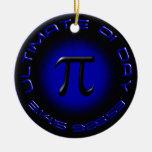 Último día 2015 del pi 3.14.15 9:26: 53 (azul) adornos de navidad