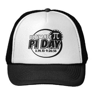 Último día del pi gorras de camionero