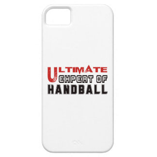 Último experto del balonmano iPhone 5 Case-Mate carcasas