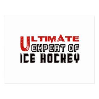 Último experto del hockey sobre hielo postal