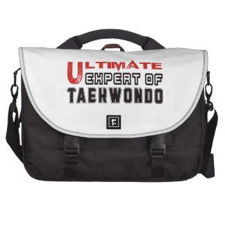 Último experto del Taekwondo Bolsa Para Ordenador