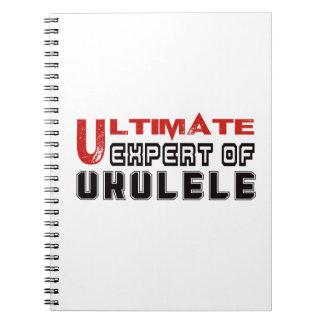 Último experto del Ukulele. Libro De Apuntes