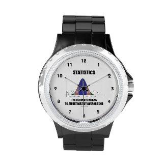 Último extremo en última instancia medio de los relojes de pulsera