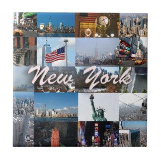 ¡Último! Favorables fotos de New York City Azulejo