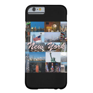 ¡Último! Favorables fotos de New York City Funda Barely There iPhone 6