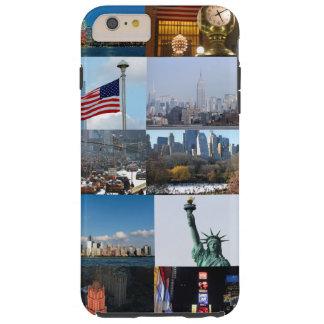 ¡Último! Favorables fotos de New York City Funda Resistente iPhone 6 Plus