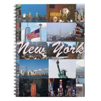 ¡Último! Favorables fotos de New York City Libro De Apuntes