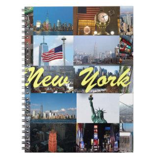 ¡Último! Favorables fotos de New York City Libro De Apuntes Con Espiral