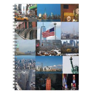 ¡Último! Favorables fotos de New York City Spiral Notebooks