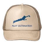 Último gorra del camionero del juego