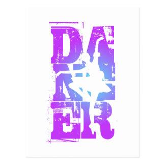 Último gráfico del bailarín tarjetas postales
