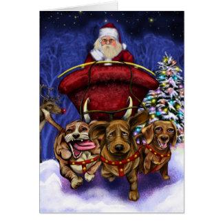 Último navidad tarjeta de felicitación