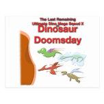 Último pelotón mega de Dino X Postales