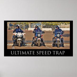 Último poster de la trampa de velocidad