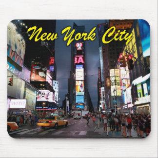 Último Times Square New York City los E.E.U.U. Tapete De Ratones