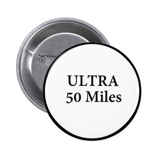 ultra 50 millas de círculo pin