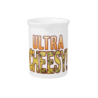 Ultra Blue Cheesy Pitcher