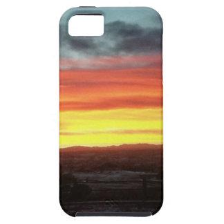 Ultra caso del iPhone de la puesta del sol iPhone 5 Fundas