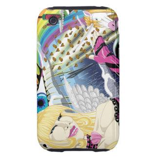Ultra caso duro de la fantasía iPhone3G Tough iPhone 3 Coberturas