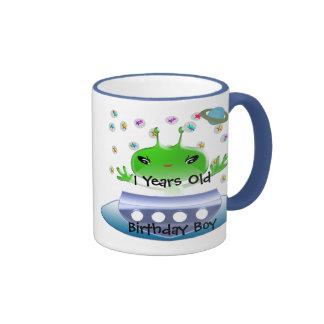 Ultra Cute Anime Aliens Birthday Mug
