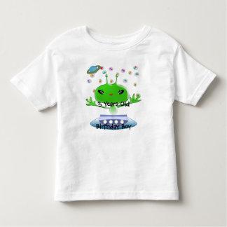 Ultra Cute Anime Aliens Birthday Shirt- Toddler T-shirt